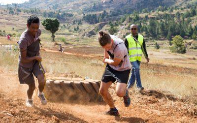 Fandraisan'ny ekipa Grandir à Antsirabe anjara amin'ny hazakazaka arahin-tsakana Mandrevo