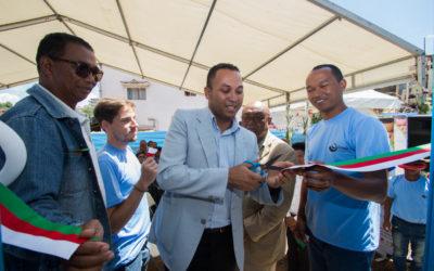 Alakamisy 22 martsa 2018 : fitokanana ny trano fandraisana vonjimaikan'ny fikambanana Grandir à Antsirabe