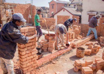 31 juillet 2018-Élévation de briques