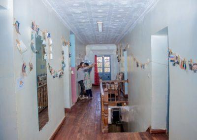 Maison d'hôtes Grandira - couloir