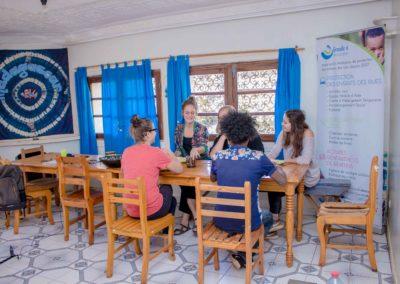 Maison d'hôtes Grandira - Salle à manger