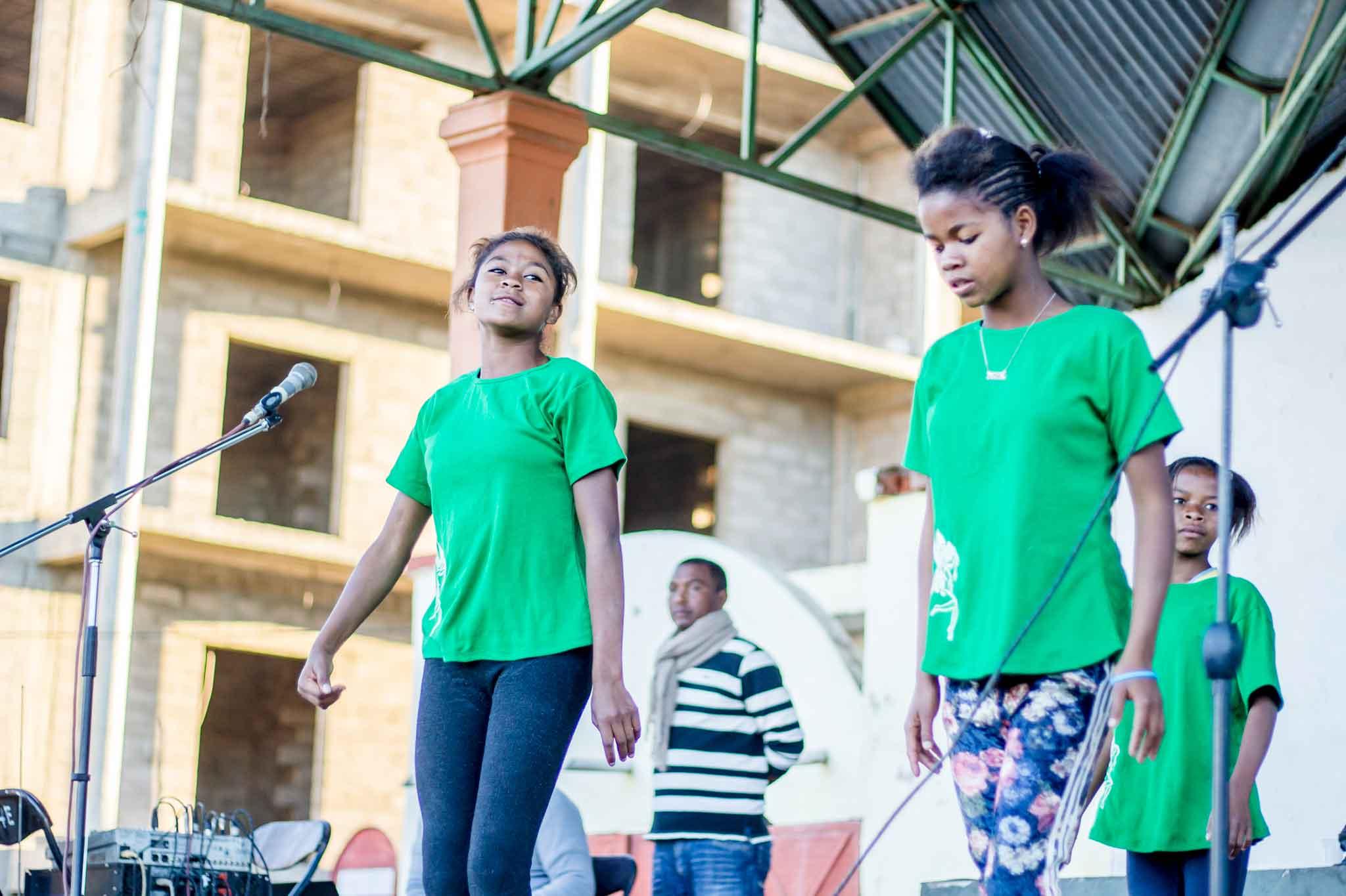 Danse des jeunes du CHT