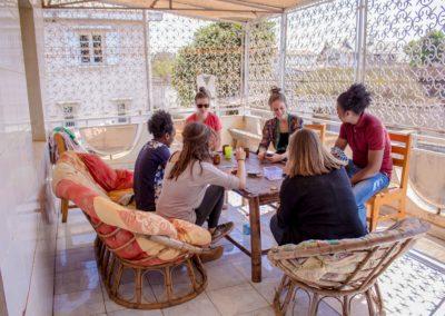 Maison d'hôtes Grandira - Terrasse