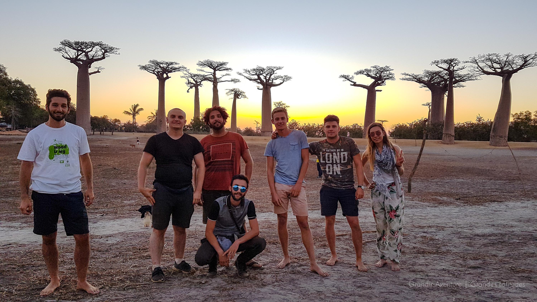 Ingés à l'allé de baobab