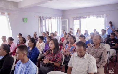15 Febroary 2019, Varavarana misokatra ho an'ireo manam-pahefana miasa ho an'ny ankizy eto an-toerana, Grandir à Antsirabe